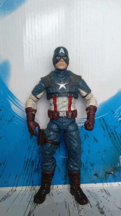 Figura Acción. Muñeco. Marvel. Avengers. Capitán América