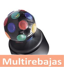 Ilumina Tu Fiesta  Con Mini Bola Giratoria De Luces Tipo Discoteca