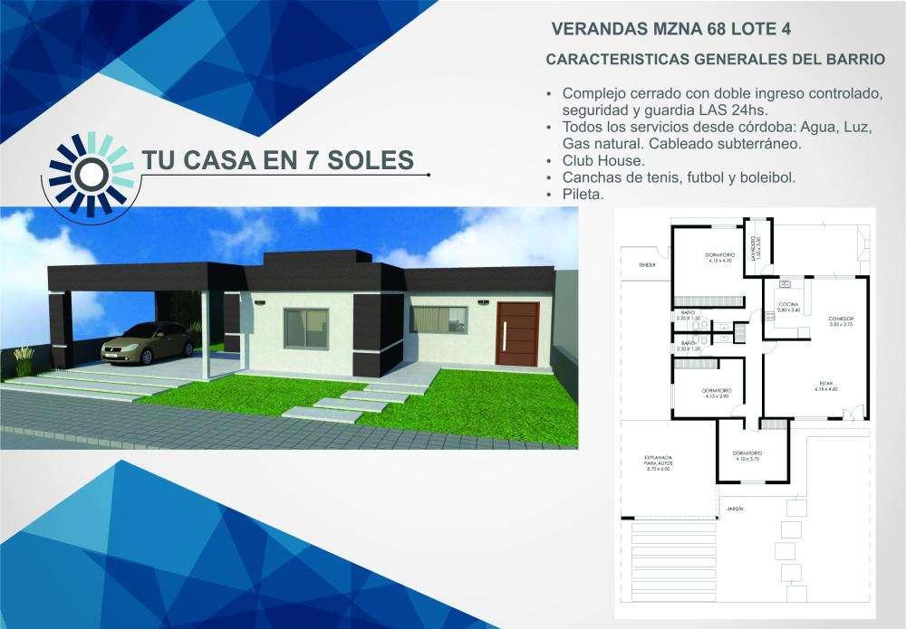 Casa en venta, Siete Soles Naturaleza Urbana, Verandas 0