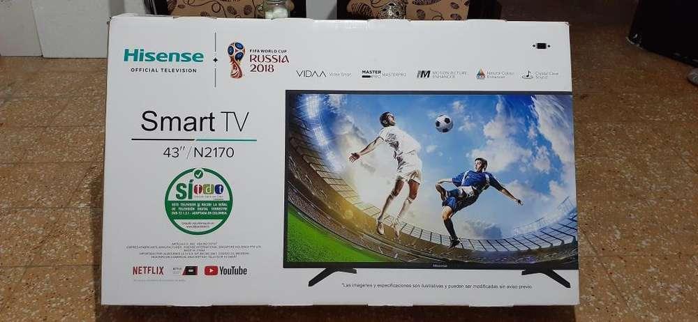 Vendo de Smart TV Marca Hisense de 43 Pulgadas Para Repuestos