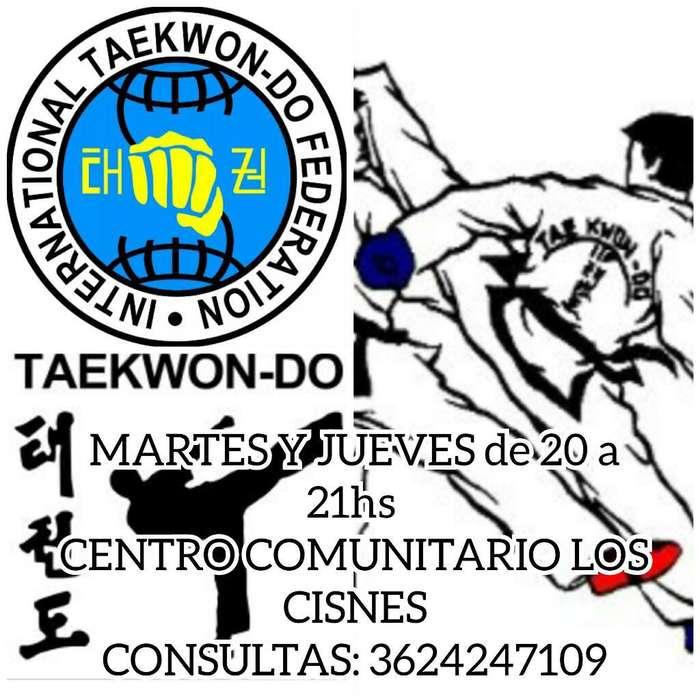 Tekwondo Itf Aprende con Los Mejores