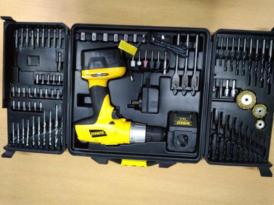 Atornilladora DeWalt a Bateria y accesorios