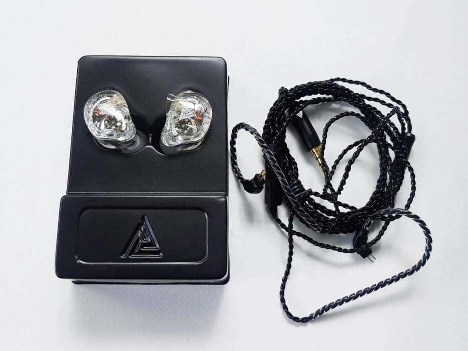 Auriculares QKZ VK1 4 Drivers Audífonos Monitoreo Con Micro