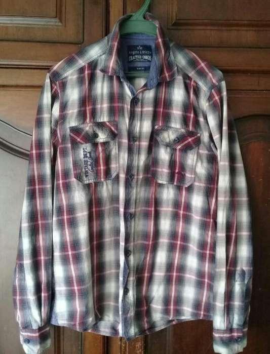 Camisa Italiana para Varon M Como Nueva