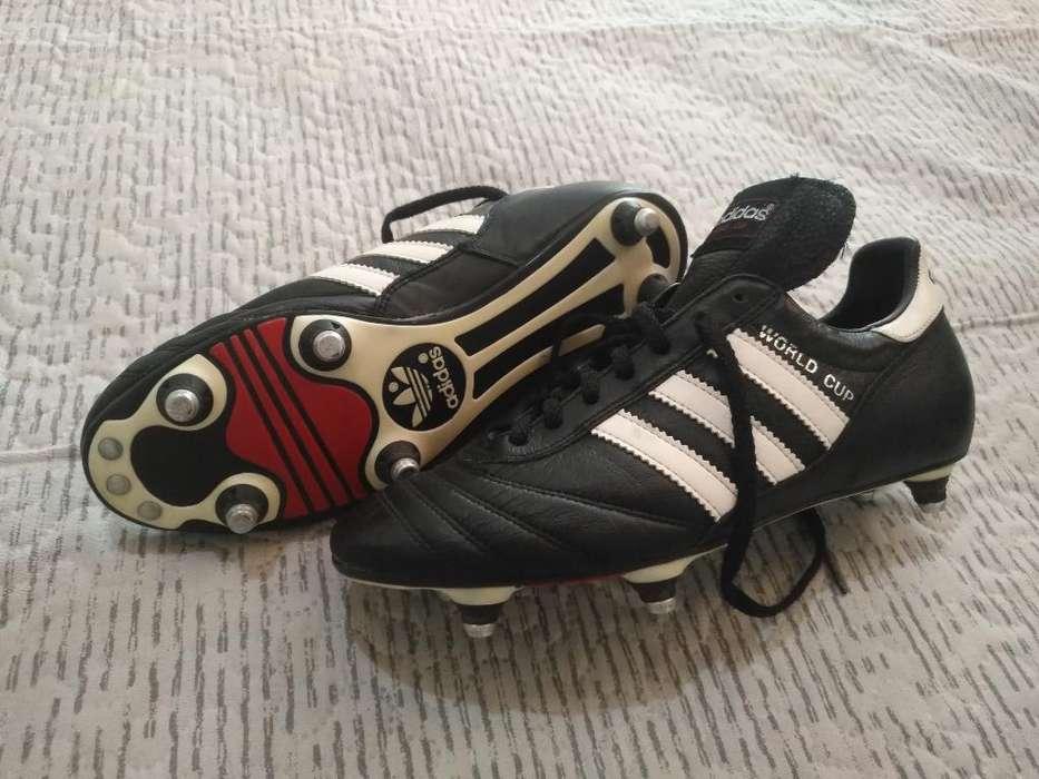 Guayos World Cup Adidas, Talla 8us