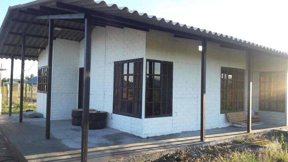 SE VENDE O PERMUTA, casa lote de 600 m2 con casa prefabricada de 90m2.
