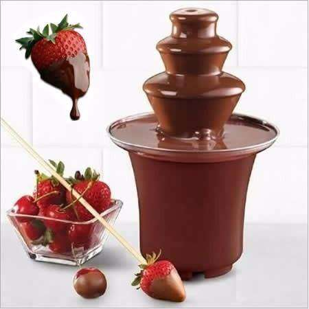 REGRESA AL MERCADO LA FUENTE CHOCOLATERA IDEAL PARA TUS <strong>decoracion</strong>ES