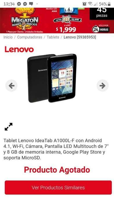 Vendo Tablet Lenovo
