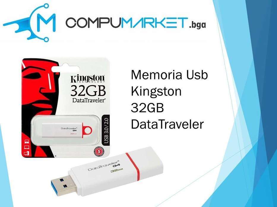 Memoria usb kingston 32gb datatraveler nuevo y facturado