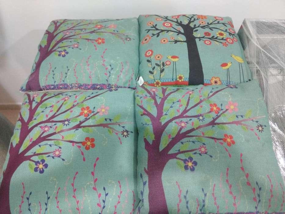 cojines en tela decorativa