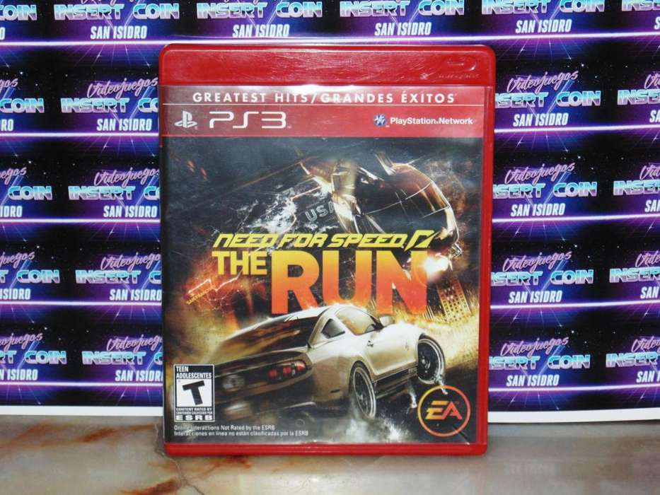 Need for Speed The Run PS3 Juego Play Station 3