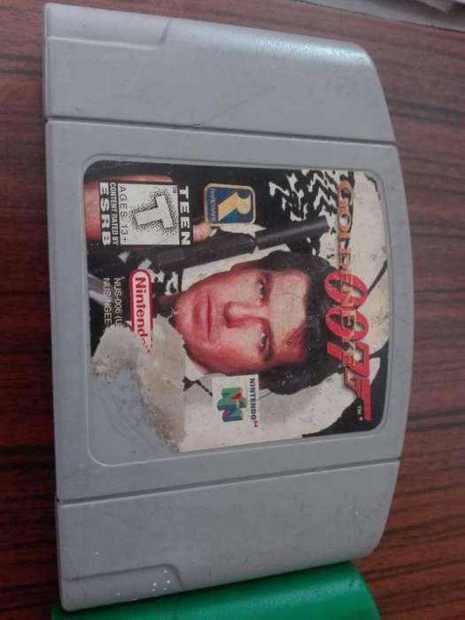 Juego 007 Nintendo 64