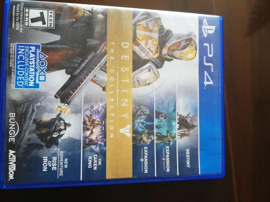 Juego de Ps4 Destiny The Collection