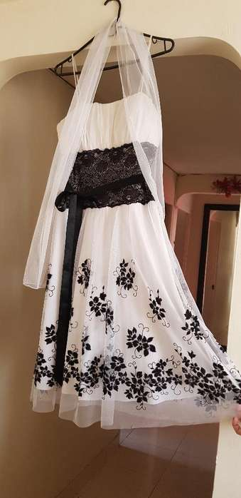 Vestido de Gala Corto