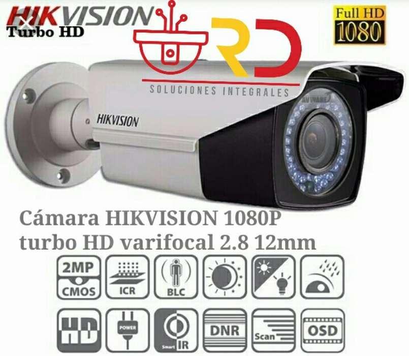 Camara de Seguridad Hikvision 2mp