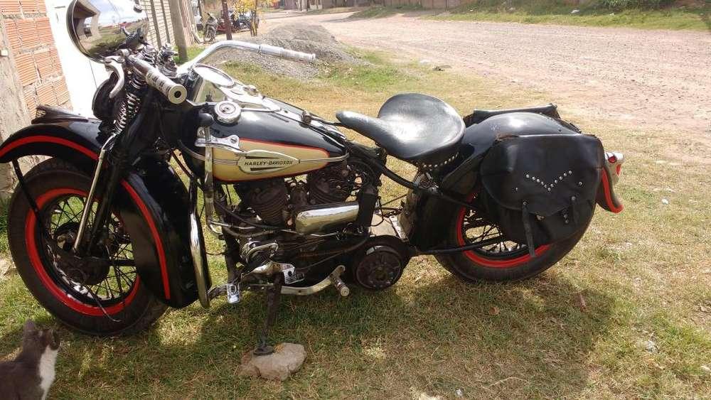 Harley Davidson Modelo 1946 750 Cc