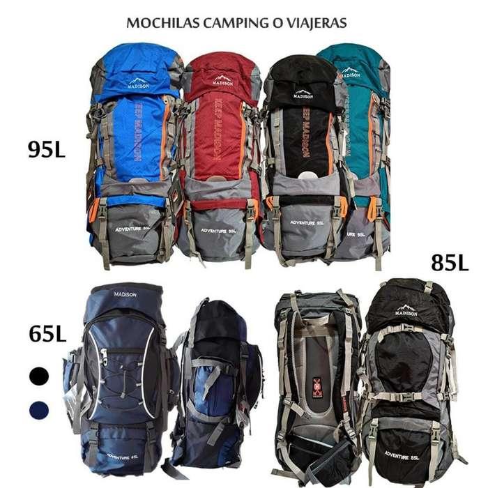 Mochilas Camping O Viajeras 65l a 95l