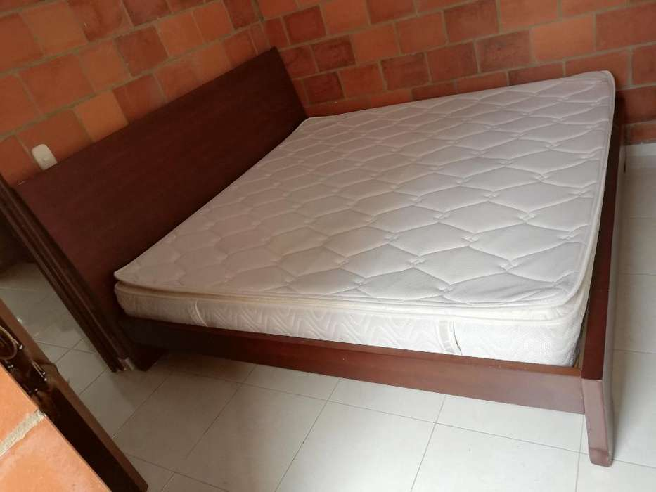 Cama Y <strong>colchon</strong> 2 X 2 Mts