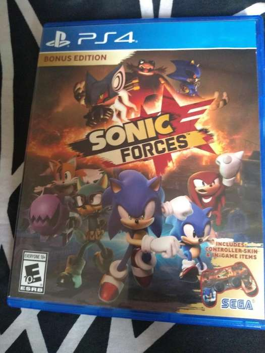 Sonic Forces Play 4 Usado