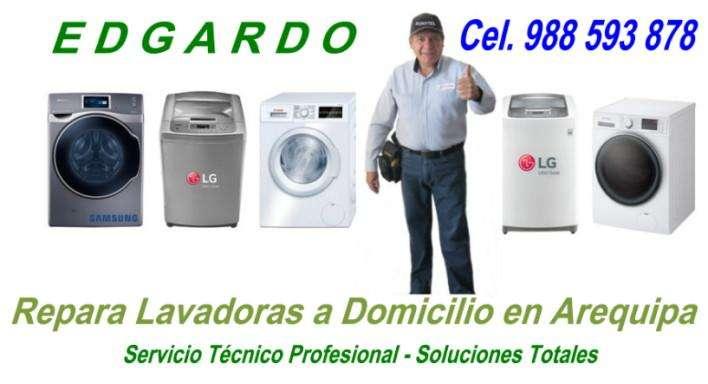 Reparación Lavadoras EDGARDO 988593878 a domicilio AREQUIPA Serv. Técnico Manteniiento. Acepto todas las Tarjetas