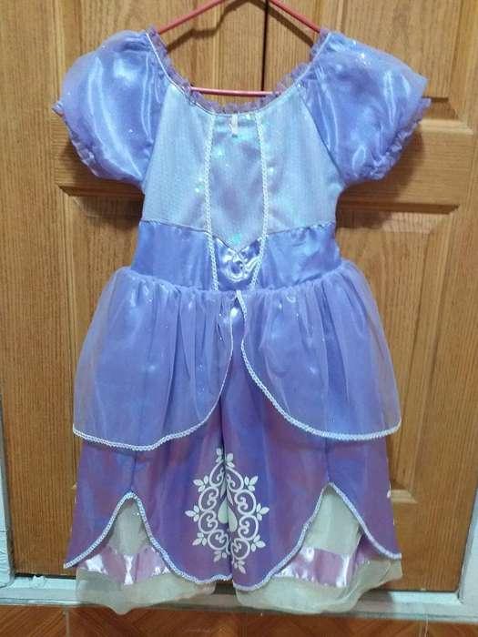 Vestido de Princesas Sofía