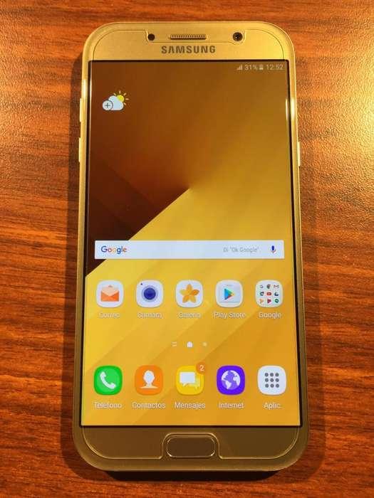 VENDO Samsung A7 2017 LIBRE IMPECABLE