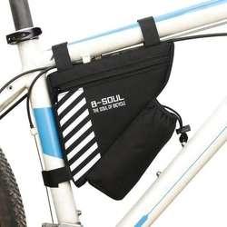 Estuche Para Bicicleta Bolso Porta Botella Celular Bolsillo