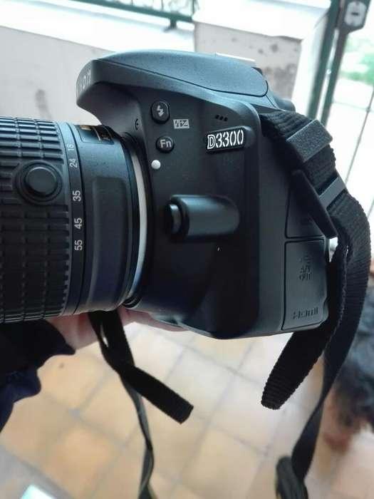 Nikon D3300 Como Nueva