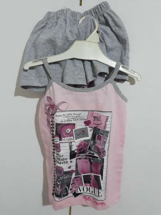 Pijama Niña T 3