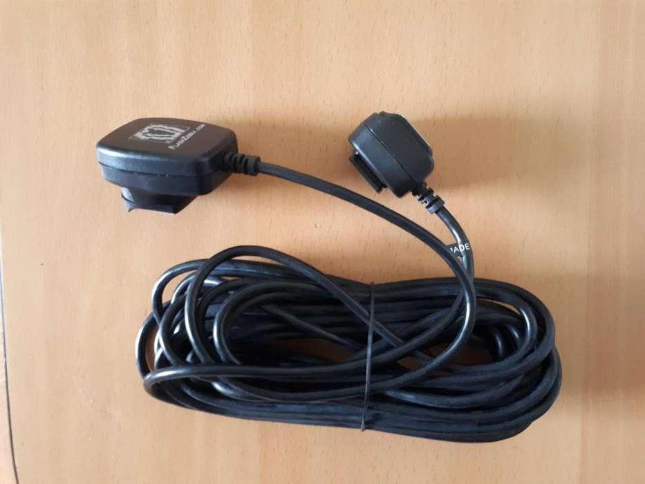 Cable de flash ETTL fuera de cámara para Canon 7.5 metros 24 pies Cordón recto