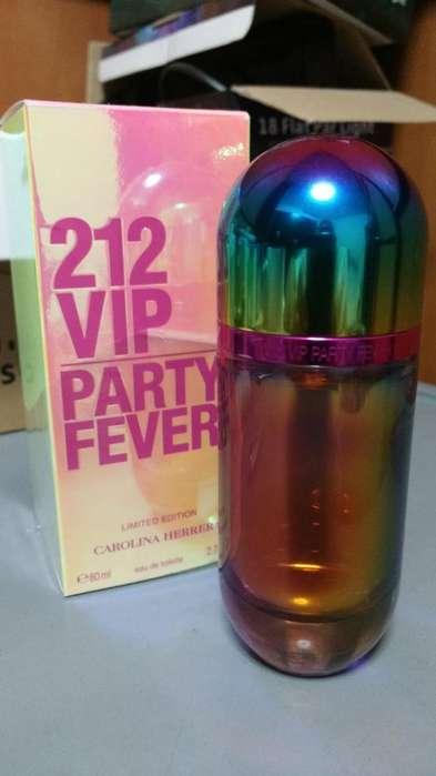 Perfume Carolina Herrera Vip 212