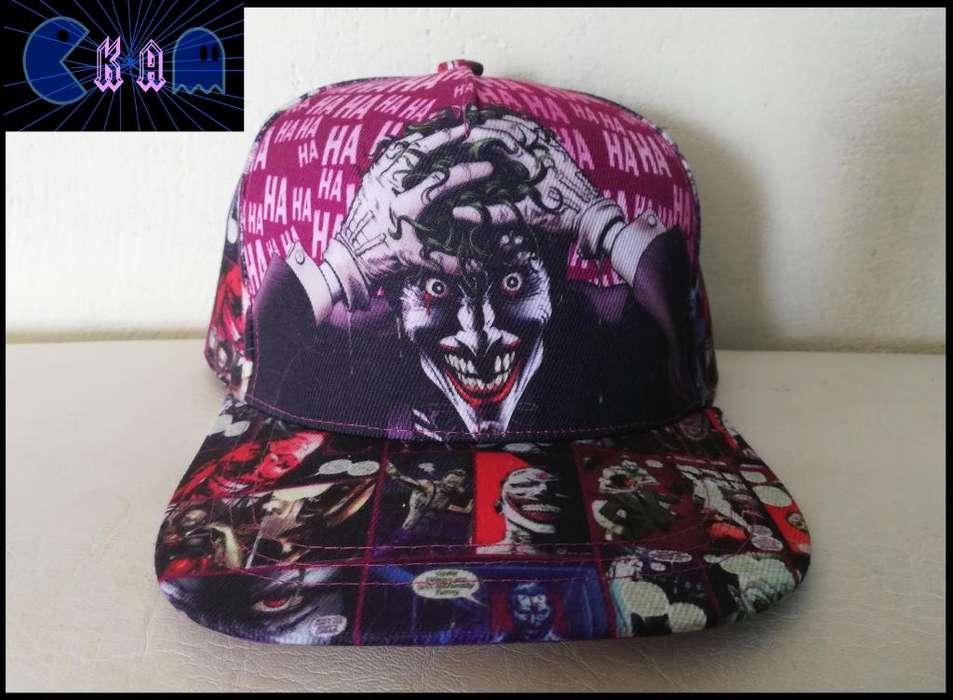 Gorra the Joker DC comic