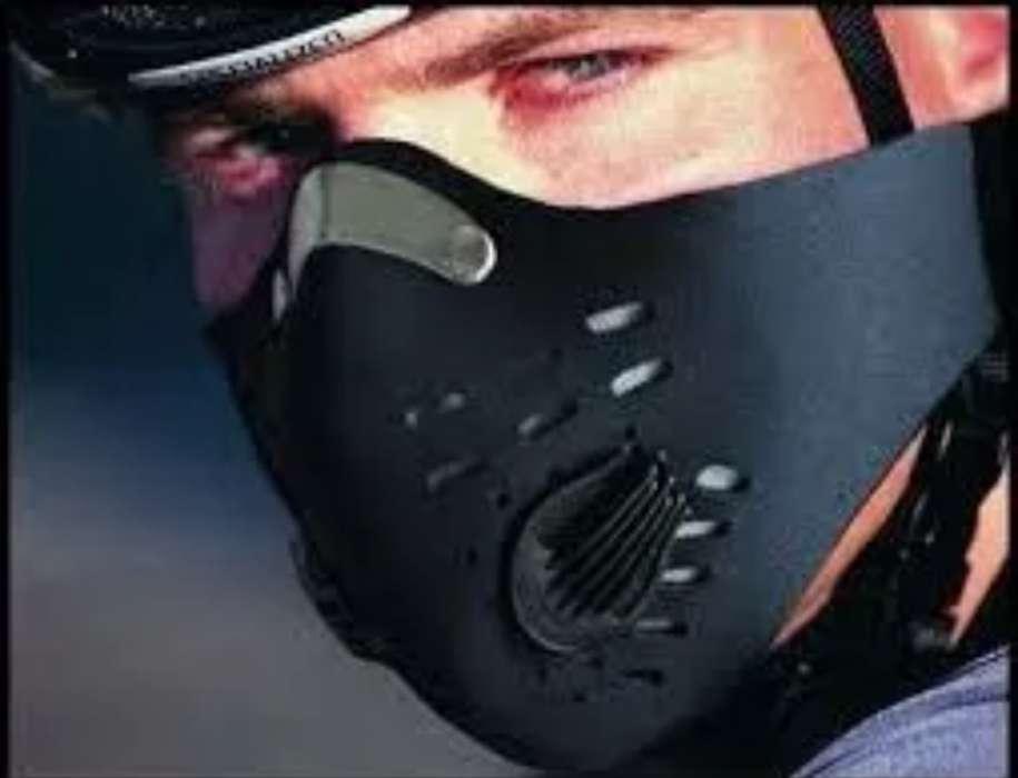 Mascara Antipolucion Balaclava Moto Bicicleta Carbon Activado