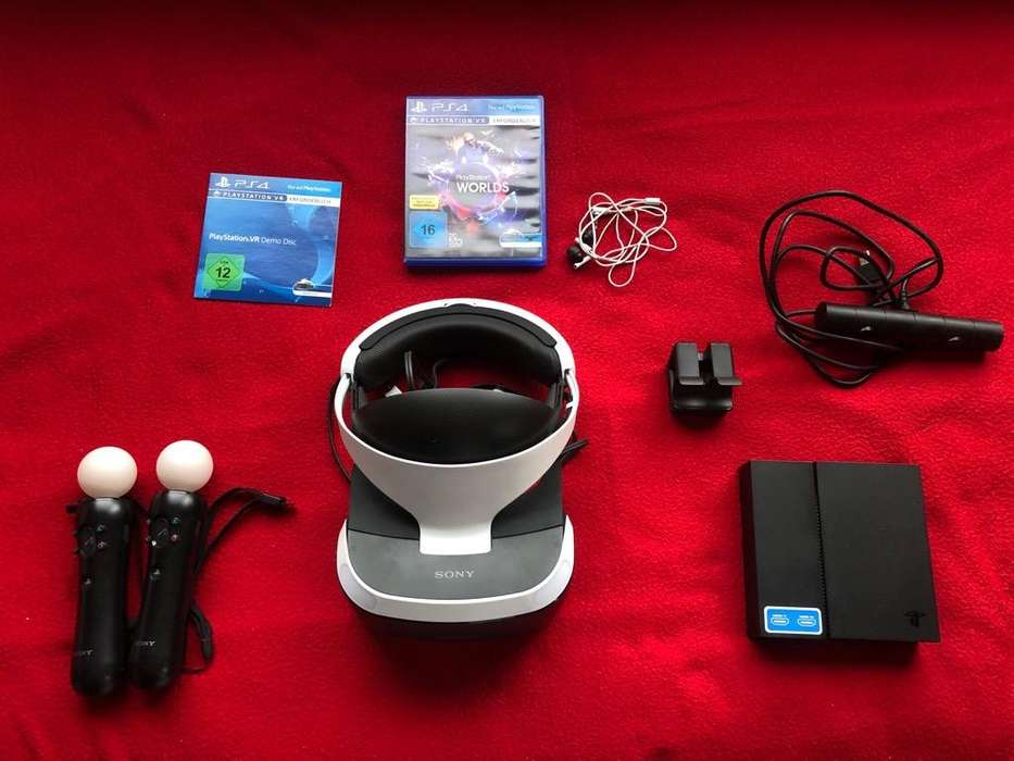<strong>playstation</strong> VR Blunde Kit