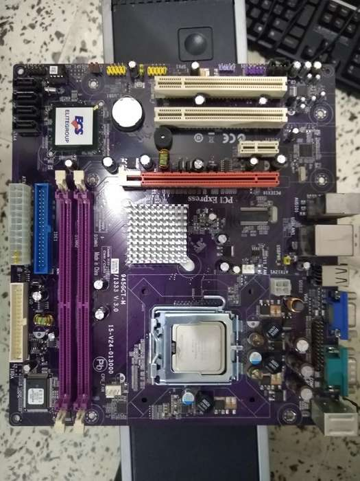 Combo Board con Procesador Entel Pentium