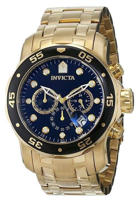 Reloj Invicta Bañado en <strong>oro</strong>