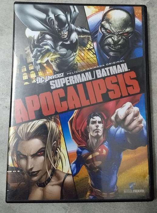 Dvd Superman Batman Apocalipsis