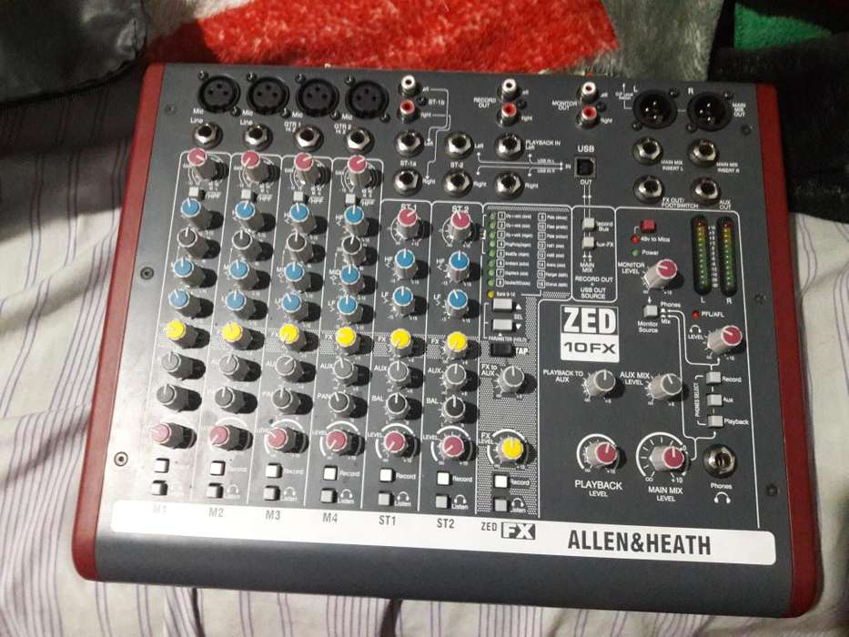 DEOPORTUNIDAD CONSOLA ALLEN HEATH 1010