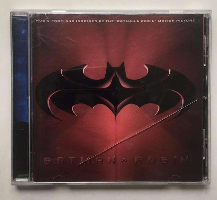 Batman y Robin Banda Sonora Cd