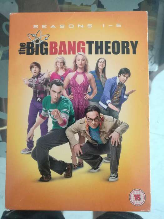 Bhe Big Bang Theory. Season 1 - 5