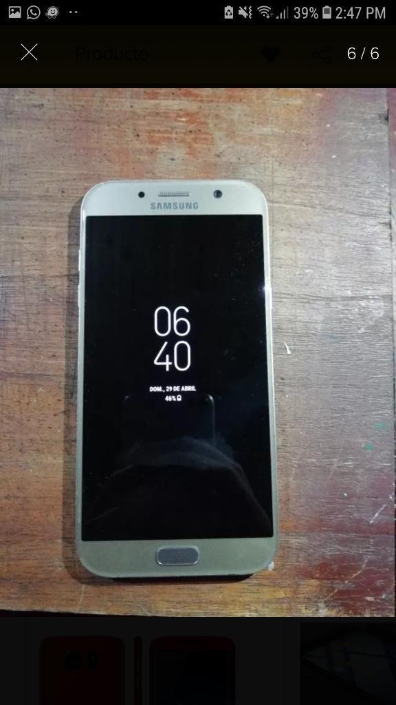 0994d2e4547 Samsung A5 2017 Usado - Bogotá