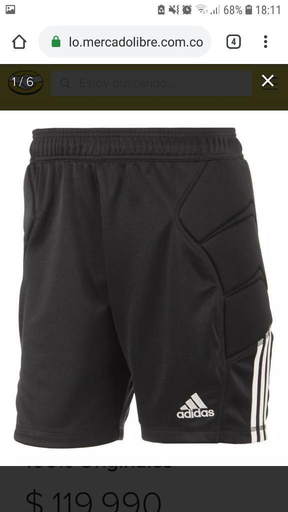 Pantaloneta Arquero Adidas Original