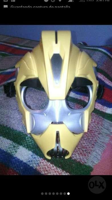 Vendo Mascara Transformers de Hasbro