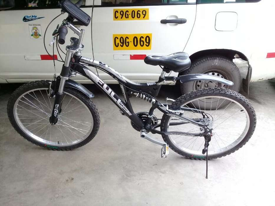 Bicicleta Doble Suspension 26