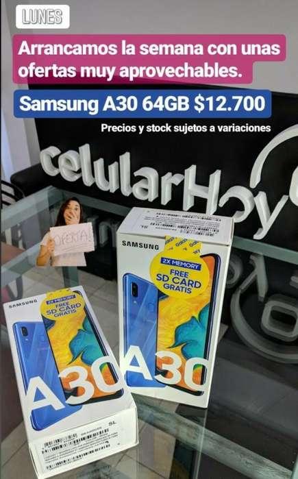 Samsung A30 64gb Nuevos 16.800