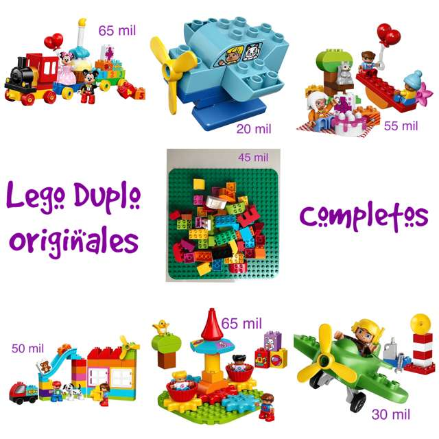 Legos Duplo Originales