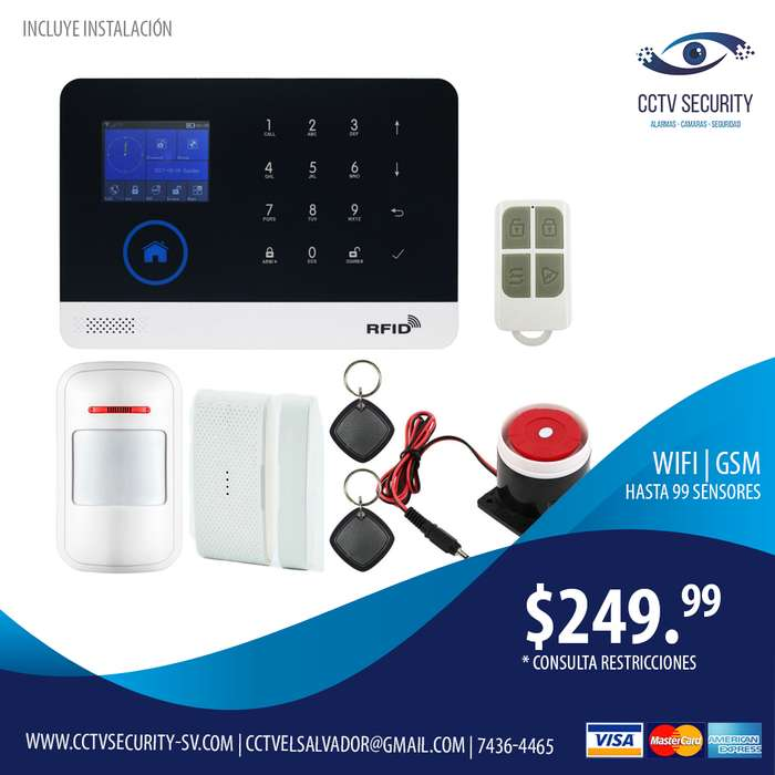 kit de alarma #Wireless