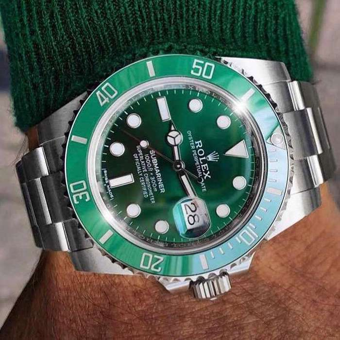 Reloj Rolex Verde Automatico