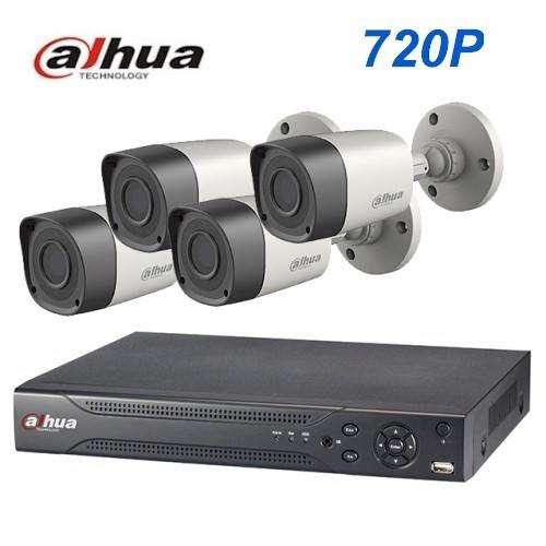 Kit de videovigilancia instalación