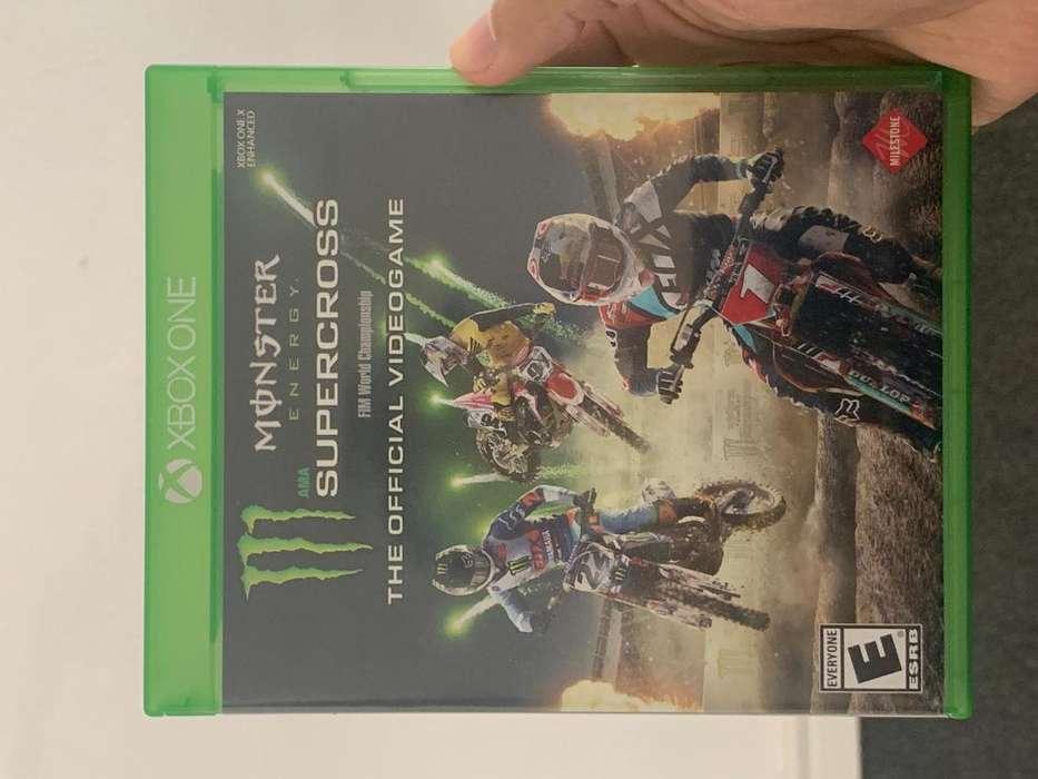 Juego Xbox one como nuevo moto cross